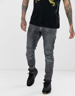 G Star G-Star Elwood skinny fit jeans in gray