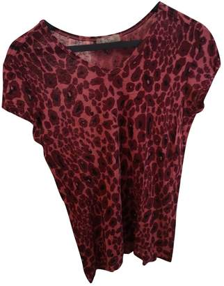 Bel Air Burgundy Linen Top for Women