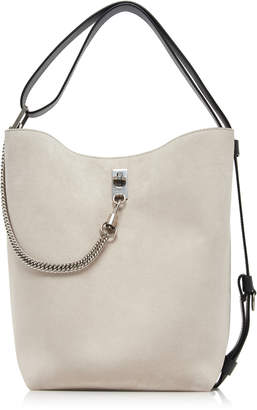 Givenchy GV Medium Metallic Suede Bucket Bag