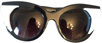 Thierry Lasry Black Plastic Sunglasses