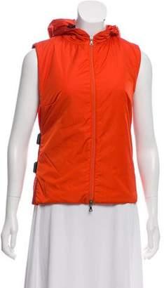 Prada Sport Hooded Vest