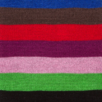 Men's Black Multi-Coloured Stripe Odd Socks $30 thestylecure.com
