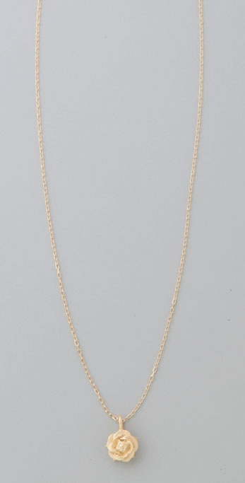 Giles & Brother Rose Necklace