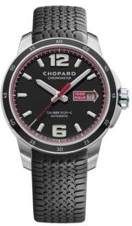 Chopard Mille Miglia GTS Power Control Automatic Stainless Steel& Rubber Strap Watch