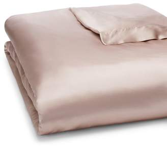 Gingerlily Silk Solid Duvet Cover, Queen - 100% Exclusive