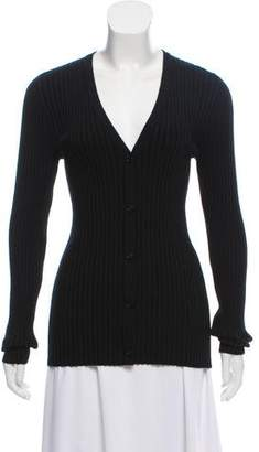 Wolford Virgin Wool Button-Up Cardigan w/ Tags