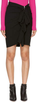 Isabel Marant Black Abril Miniskirt