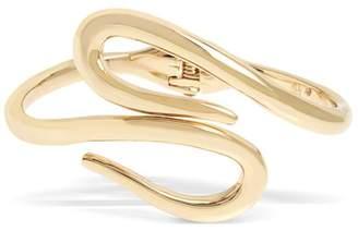 Robert Lee Morris Soho Sculptural Loop Hinged Bracelet