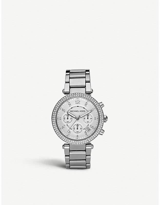 Michael Kors MK5353 Parker stainless steel watch