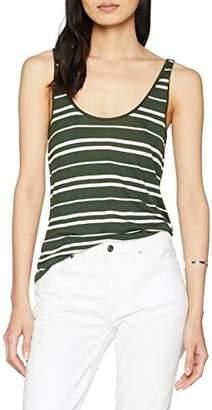 Warehouse Women's Stripe Viscose Vest Top,(Size:)