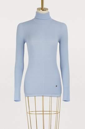 Nina Ricci Long wool skirt