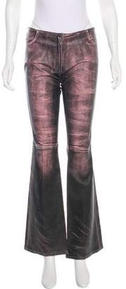 Jitrois Flared Leather Pants