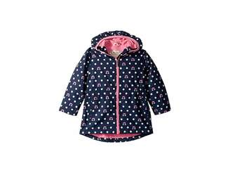 Hatley Dots and Rainbows Microfiber Rain Jacket (Toddler/Little Kids/Big Kids)