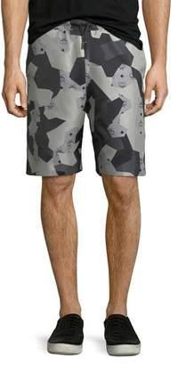MCM x CR Collection Camo Jacquard Shorts $570 thestylecure.com
