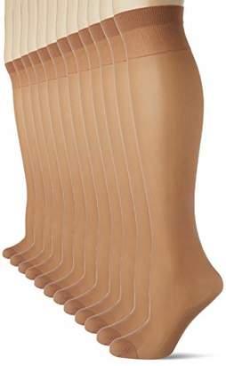 10857af63cb Dim Women s Mi-bas Ecodim X12 Ankle Socks