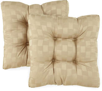 Asstd National Brand Reflections Set of 2 Reversible Chair Cushions