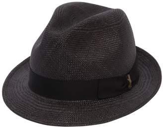 Borsalino Quito Small Brim Straw Panama Hat
