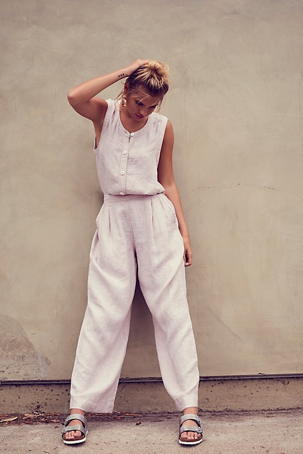 Lexington Wide Leg One-Piece by Free People