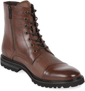 Kenneth Cole Reaction Daxten Lace-Up Boots