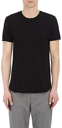 Barneys New York Men's Cotton-Blend Crewneck T-Shirt - Black