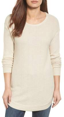 Caslon Texture Knit Tunic (Regular & Petite)