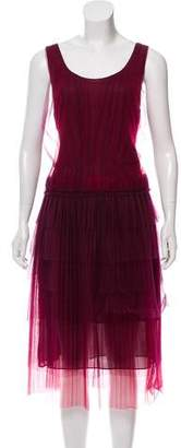 Burberry Tulle Midi Dress w/ Tags