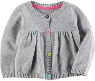 Carter's Long Sleeve Cardigan - Baby Girls