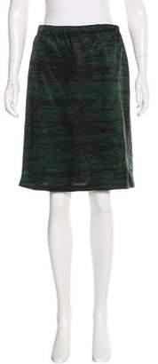 Marni Printed Pencil Skirt