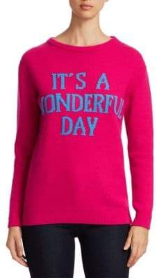 Alberta Ferretti Rainbow Week Capsule Days Of The Week It's A Wonderful Day Sweater