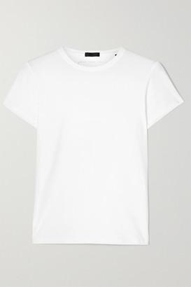 ATM Anthony Thomas Melillo Stretch-pima Cotton Jersey T-shirt - White