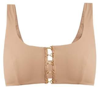 Dos Gardenias - Bandit Hooks Bikini Top - Womens - Nude