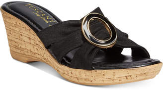 Easy Street Shoes Tuscany Conca Wedge Sandals Women's Shoes