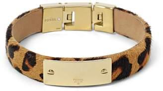 Fossil Id Plaque Bracelet