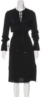 Altuzarra Juliet Lace-Up Dress