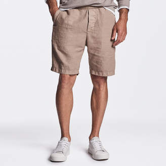 James Perse COTTON LINEN CANVAS WORK SHORT