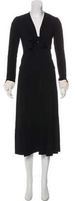 Mayle Maison Long Sleeve Midi Dress