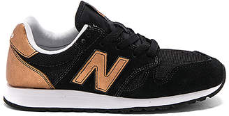 New Balance 520 Sneaker in Black $80 thestylecure.com