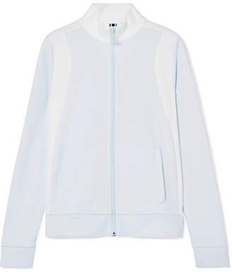 Tory Sport Two-tone Piqué Track Jacket - Sky blue