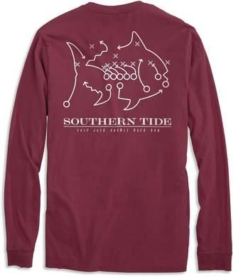 Southern Tide Skipjack Play Long Sleeve T-shirt - Mississippi State University