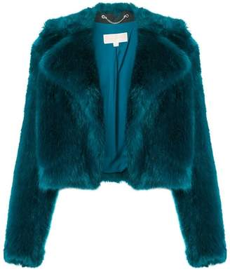 MICHAEL Michael Kors faux fur cropped jacket