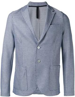 Harris Wharf London patterned blazer