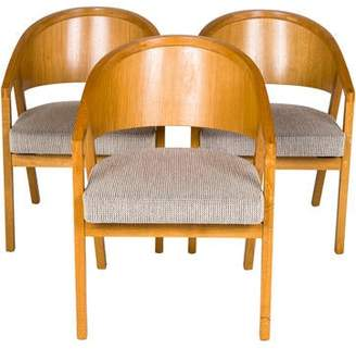 Knoll Set of 3 Shelton Mindel Side Chairs