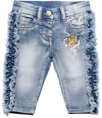 MonnaLisa Denim Effect Cotton Jeans