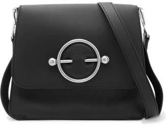 J.W.Anderson Disc Leather Shoulder Bag - Black