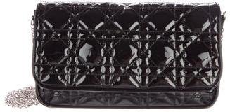 Christian Dior Patent Lady Dior Crossbody Bag $700 thestylecure.com