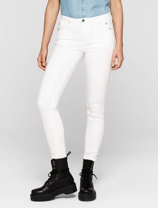 Calvin Klein sculpted clean white skinny jeans