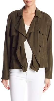 Splendid Drape Front Jacket