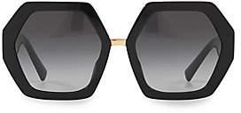 Valentino Women's 57MM Geometric Sunglasses