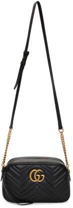 Gucci Black Small Marmont Camera Bag