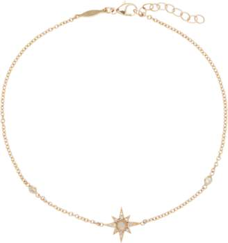 Jacquie Aiche Moonstone Shining Star Anklet